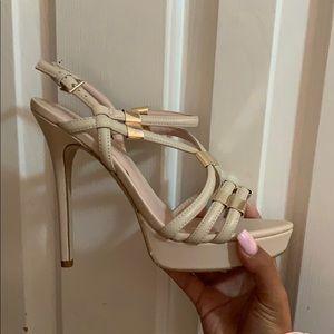 Aldo kenasa heels - cream